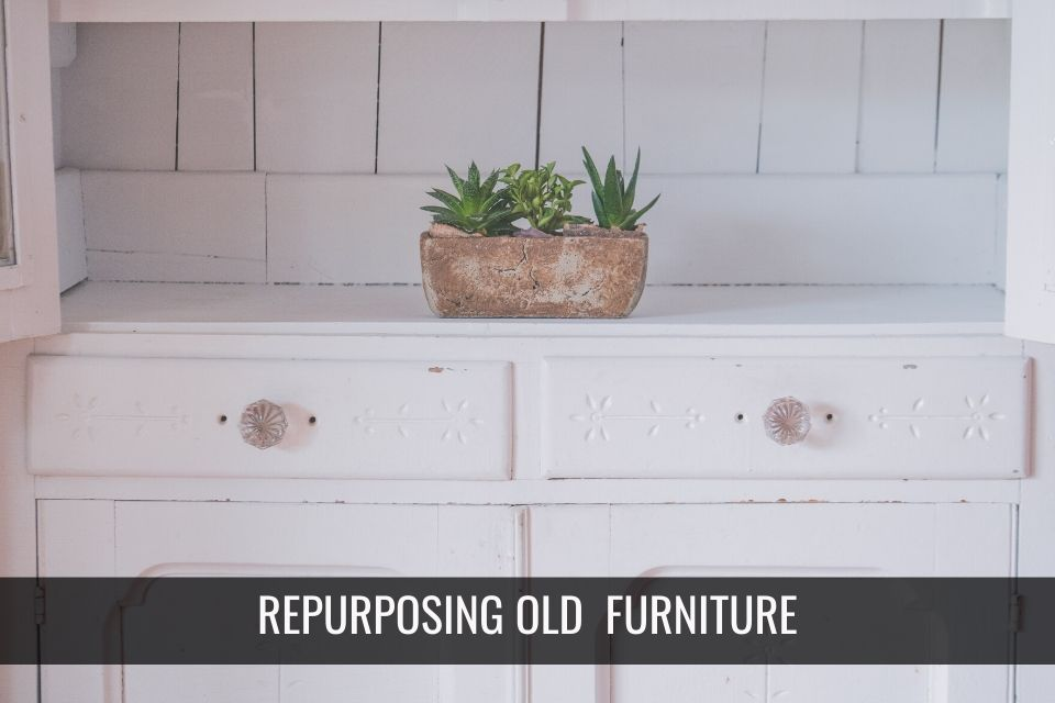 7 Cool Ways to Re-purpose Old Furniture